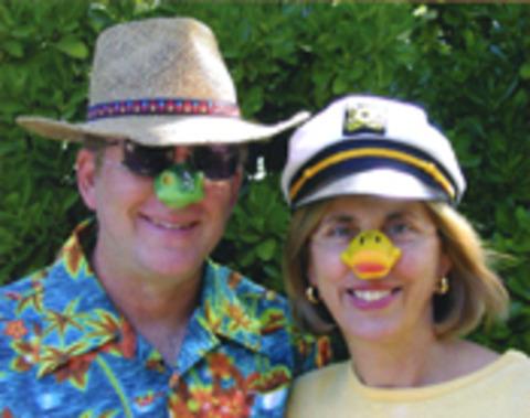 Dennis hysom and christine walker