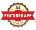 A4 featured app